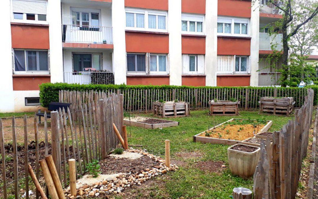 Jardin pédagogique Est Métropole Habitat